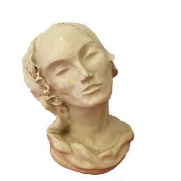 Lady Bust Figurine