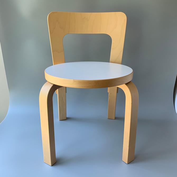 Alvar Aalto Child's #65 Chair Artek by HomeAnthology