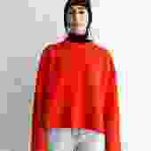 Proenza Schouler Rib-Knit Split Sweater