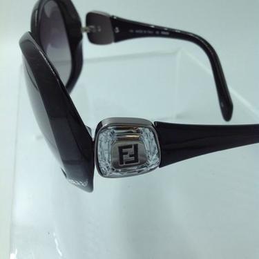Fendi Black & Silver Sunglasses