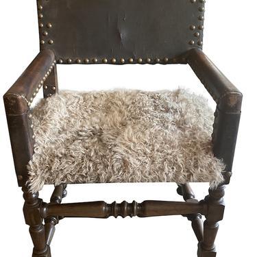 Gothic Revival Arm Chair