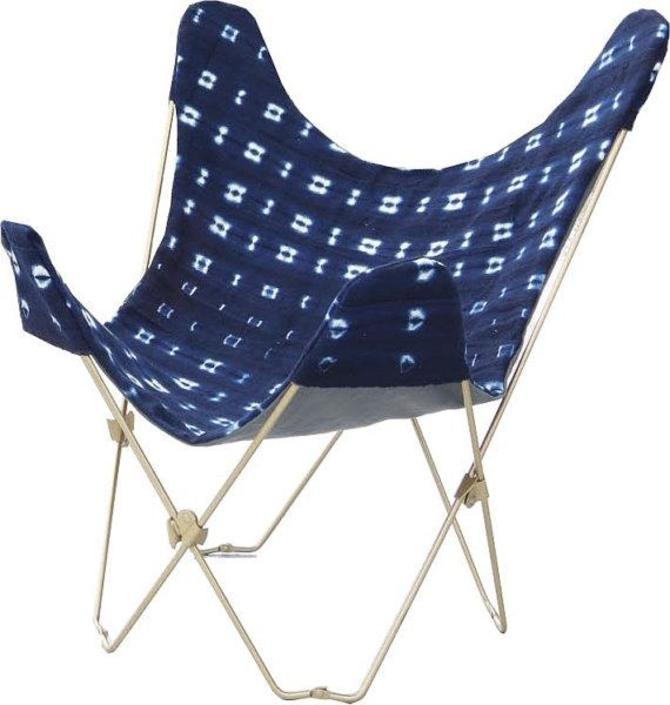 Indigo Butterfly Chair