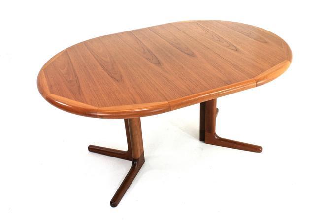 Danish Teak Extending Dining Table by Lourits M Larsen Mobelfabrik by SputnikFurnitureLLC