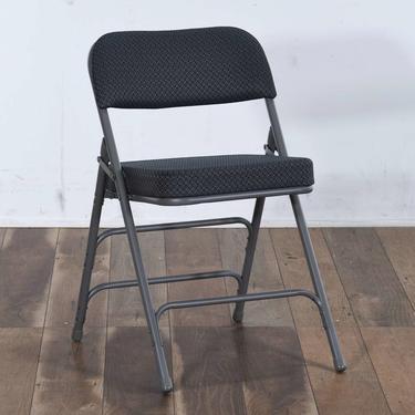 Contemporary Gray Folding Chair