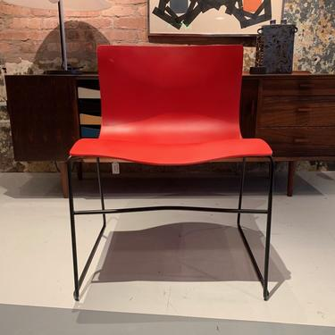 Handkerchief Chairs by Massimo Vignelli for Knoll (in Red) - Pair Available