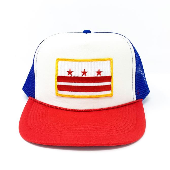 D.C. Capital Crown (Red, White, Blue) Trucker