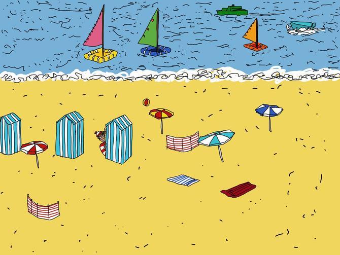 Beaching it by LidFlutters