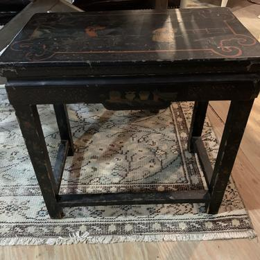 Vintage Chinese Lacquer Stand