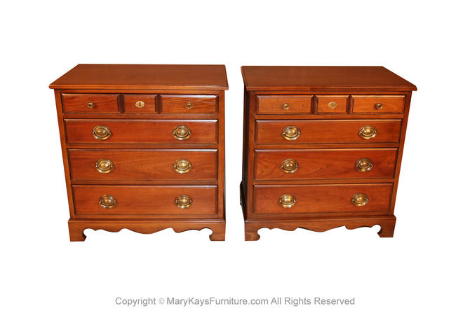 Pair American Permacraft Bachelor's Chests by Marykaysfurniture
