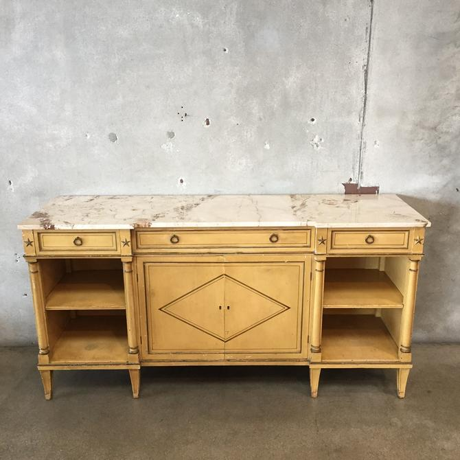 1930's Hollywood Regency Dining Room Sideboard