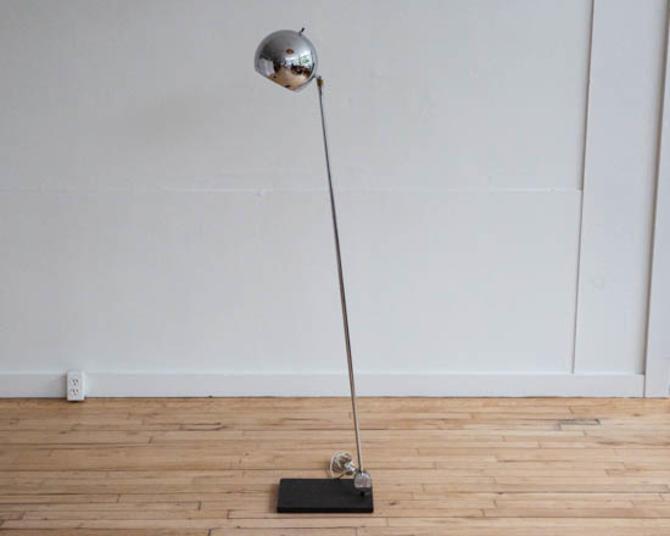 Sonneman Chrome Floor Lamp
