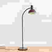 Gooseneck Enameled Floor Lamp