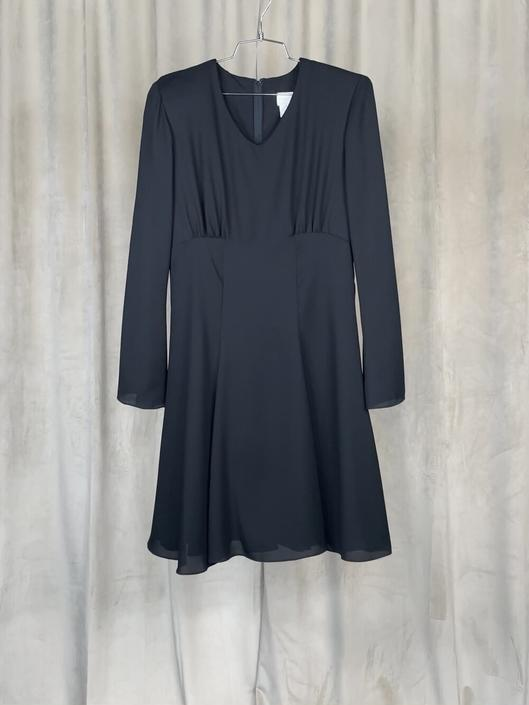 Vintage Black Bellsleeve Dress