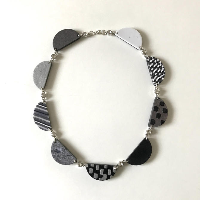 Project Runway inspired scallop necklace - from season 15 designer Rik by ChrisBergmanHandmade