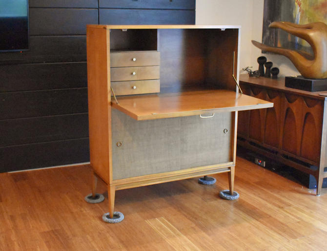 Vintage Planner Group by Paul McCobb for Winchendon Furniture secretary/desk by MidCenturyClever