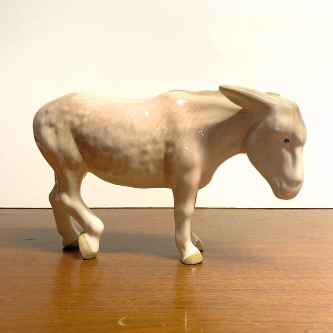 Vintage Coopercraft Donkey Figurine Made in England by OverTheYearsFinds