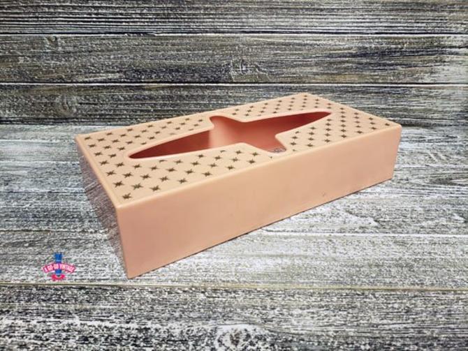 Marvelous Vintage Tissue Box Cover Atomic Starburst Kleenex Box Cover Mid Century Modern Pink Rubbermaid Tissue Box Tissue Holder Bathroom Decor By Home Interior And Landscaping Ologienasavecom
