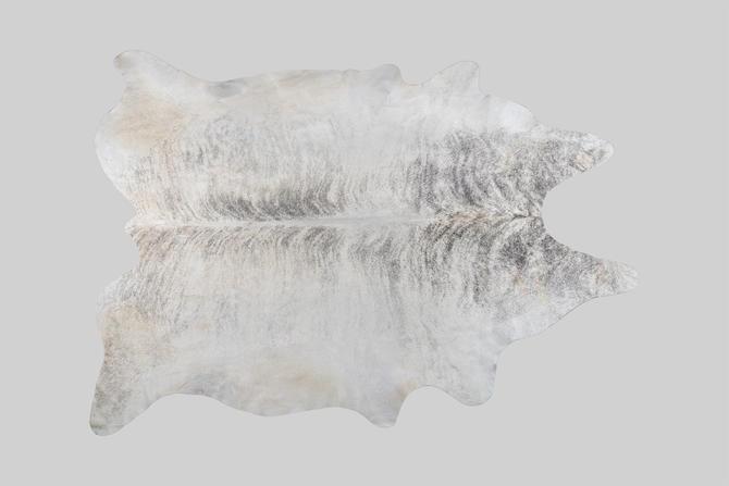 Gray Brindle Genuine Brazilian Cowhide by MatthewRachman