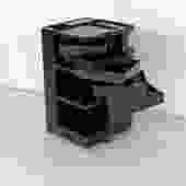 1970s Black Boby Trolley by Joe Colombo for Bieffeplast