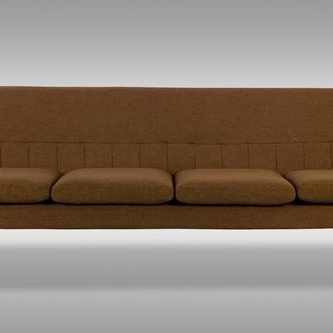 Large Mid Century Sofa by Pi Langlo Fabrikker of Norway, Circa 1960s - *Please ask for a shipping quote before you buy. by CoolCatVintagePA
