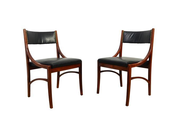 Rosewood Dining Chairs by Vestervig Eriksen for Brdr Tromborg Lystrup, Denmark Danish Modern by HearthsideHome