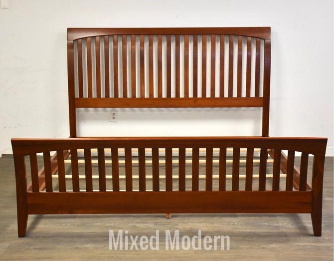 Ethan Allen American Impressions Cherry King Bed by mixedmodern1