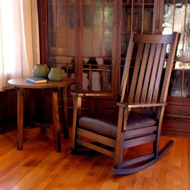 Tall back rocking chair by CaledoniaStudios