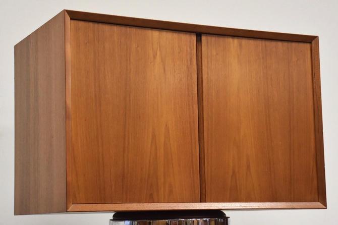 Poul Cadovius Teak Wall Unit Cabinet by mixedmodern1