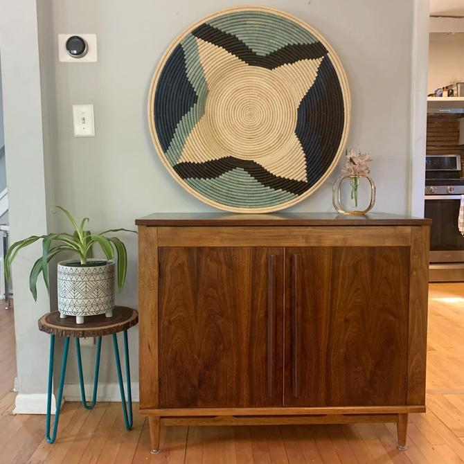 One of a Kind Repurposed Walnut Cabinet