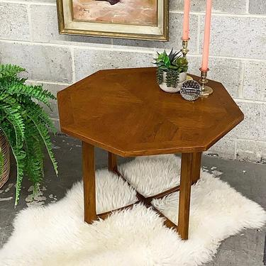 LOCAL PICKUP ONLY ———— Vintage Lane X Base End Table by RetrospectVintage215