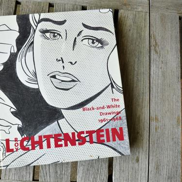 ROY LICHTENSTEIN The Black-and-White Drawings 1961-1968, Vintage Hardback Art Book, first edition by SourcedModern
