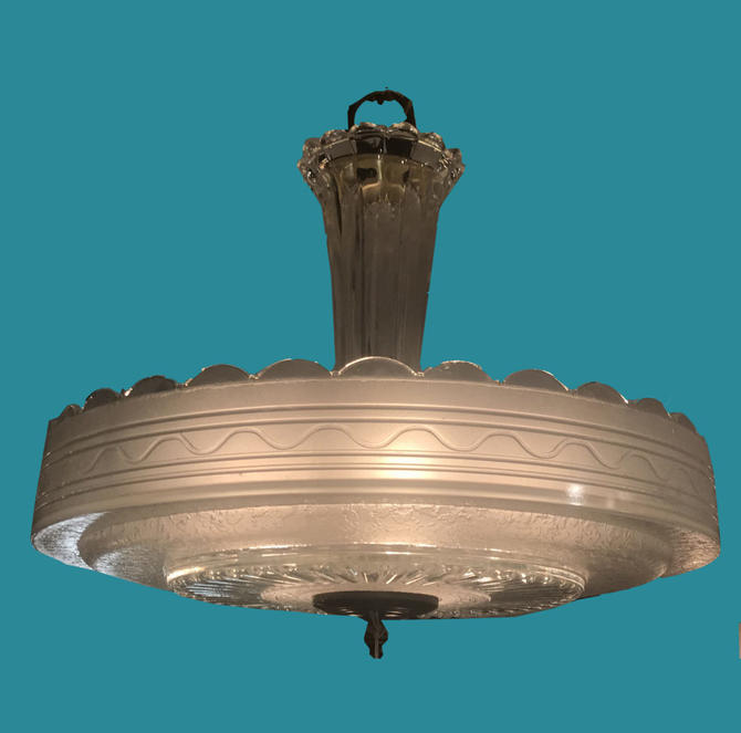 Mid-Century Dish Light