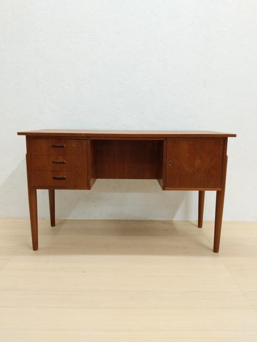 Vintage Danish Modern Teak Desk by FarOutFindsNYC