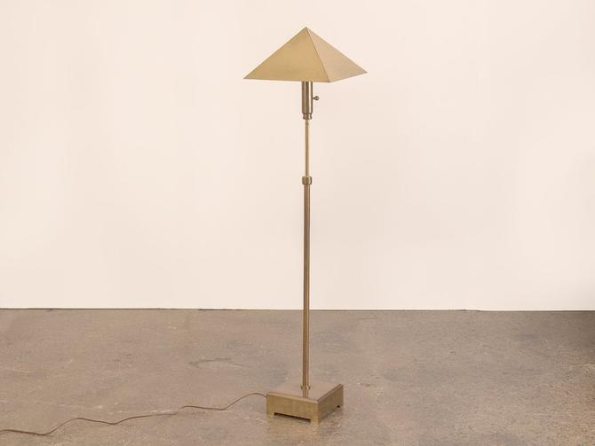 Chapman Brass Floor Lamp by openairmodern