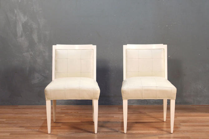 Stendig Contemporary White Leather Accent Chair – ONLINE ONLY