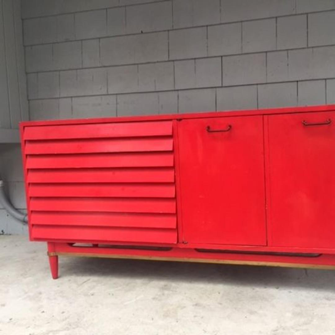 Midcentury Upcycled American Martinsville Credenza From
