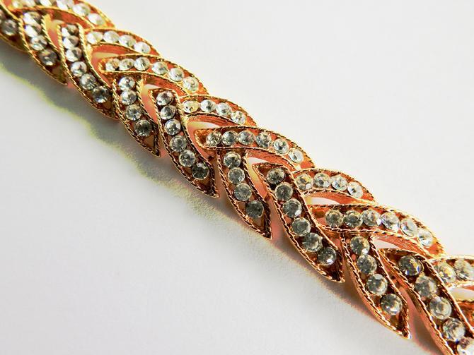 Nolan Miller Rhinestone Bracelet by LegendaryBeast