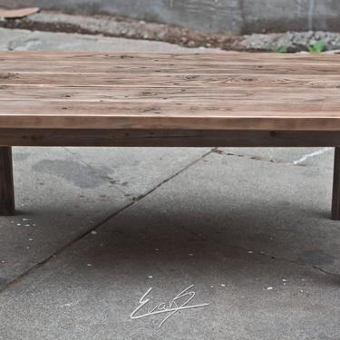 Reclaimed Wood Coffee Table by EvansWoodshopDesign