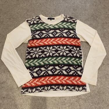 Comme des Garcons Printed Knit Top