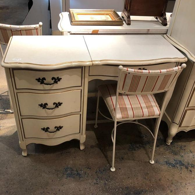 Faux French Vanity $195