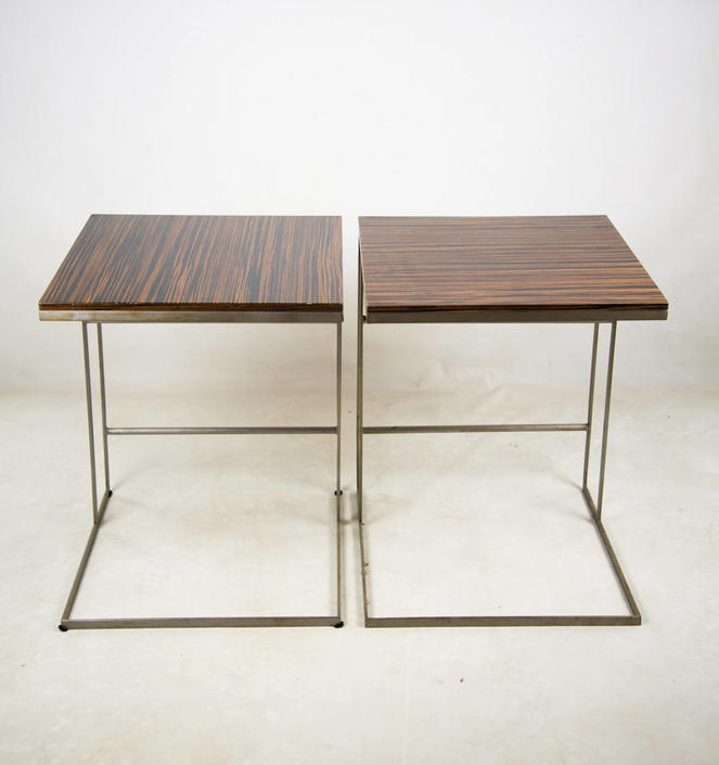 Desiron Lap End Side Tables Set of 2 by BluffStProps