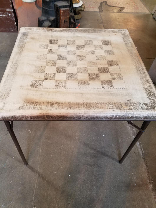 Vintage Game/Card Table 30(sq) x 26.25