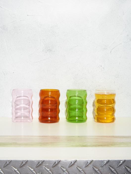 Jumbo Ripple Glass