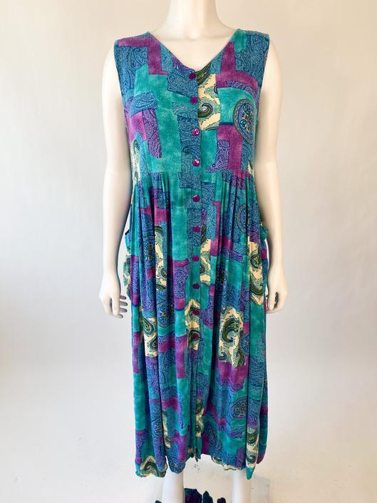 Jewel-Tone Bila Babydoll Dress