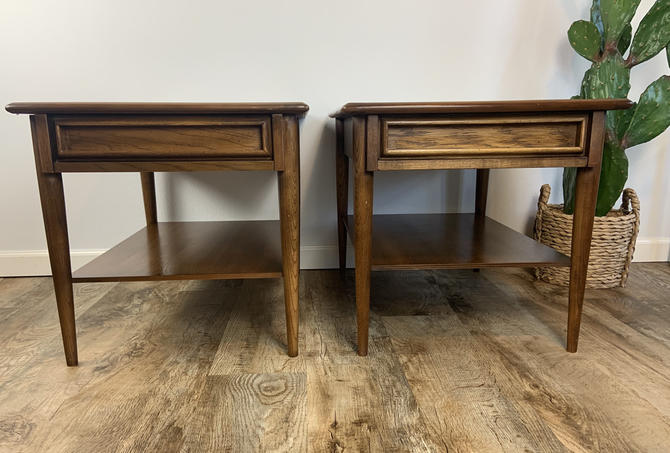 Set of Mid Century End Tables by DesertCactusVintage