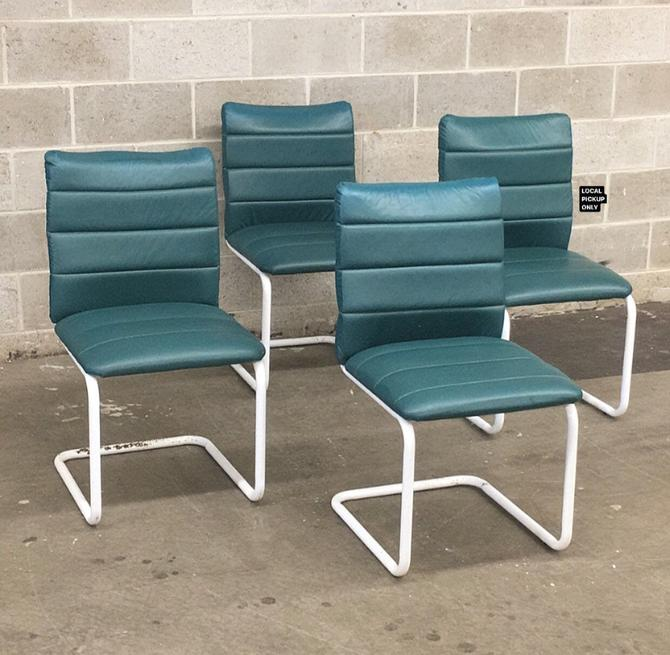 LOCAL PICKUP ONLY ———— Vintage Cantilever Chairs by RetrospectVintage215