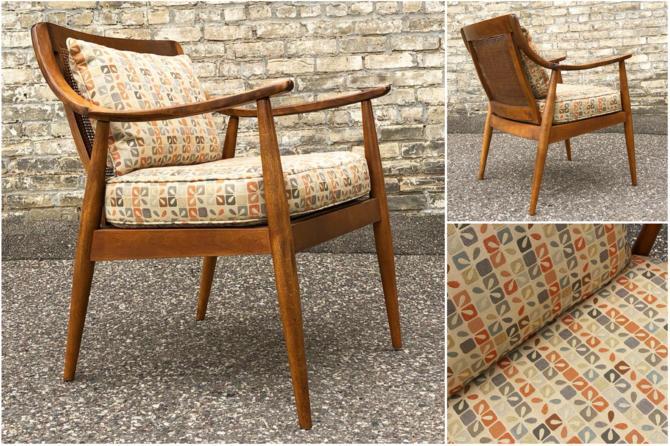 Danish Modern Chair By Tell City
