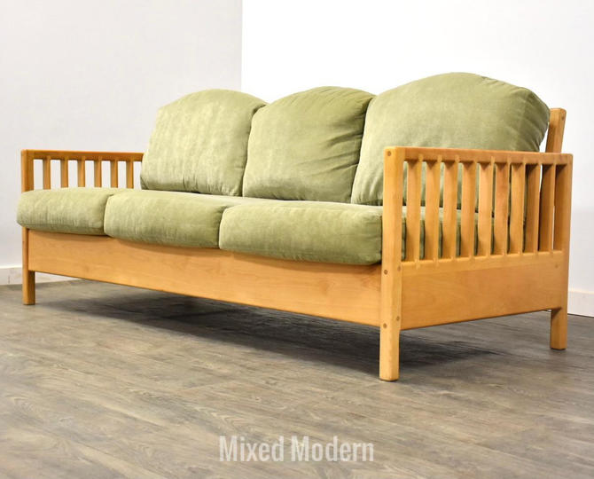 Pompanoosuc Mills Spindle Collection Sofa by mixedmodern1