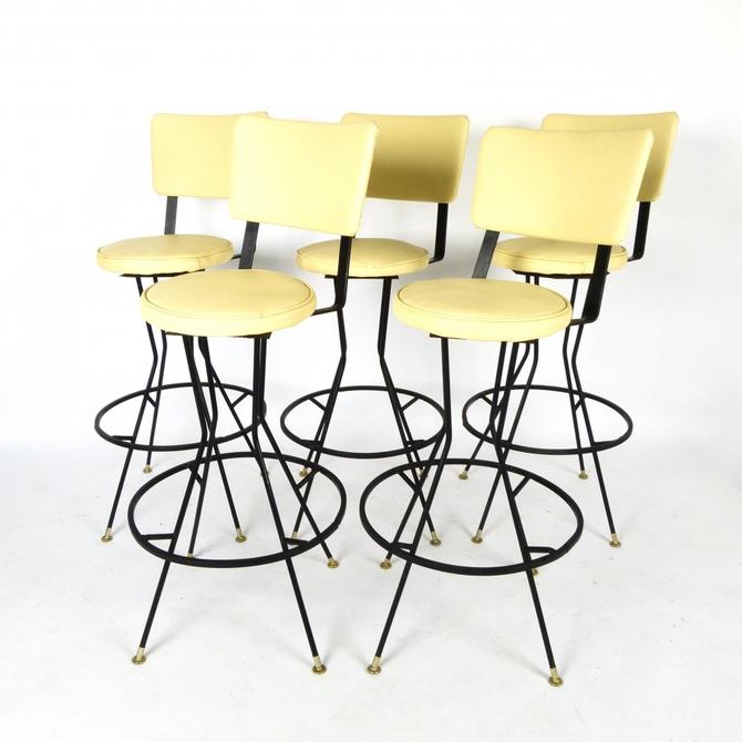Five Swivel Barstools (Price is for Each in Lots of 2 or 3)