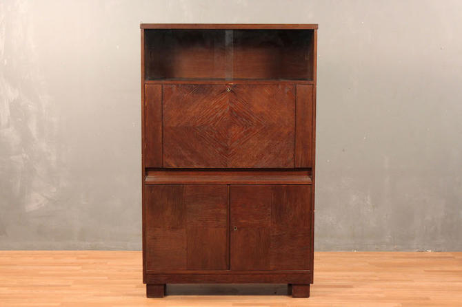 German Art Deco Secretary Wall Unit – ONLINE ONLY